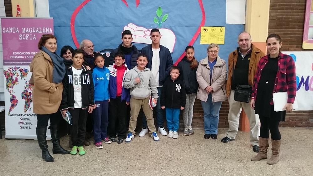 Reunión del Consejo de Alumnos de Nazaret en nuestro colegio