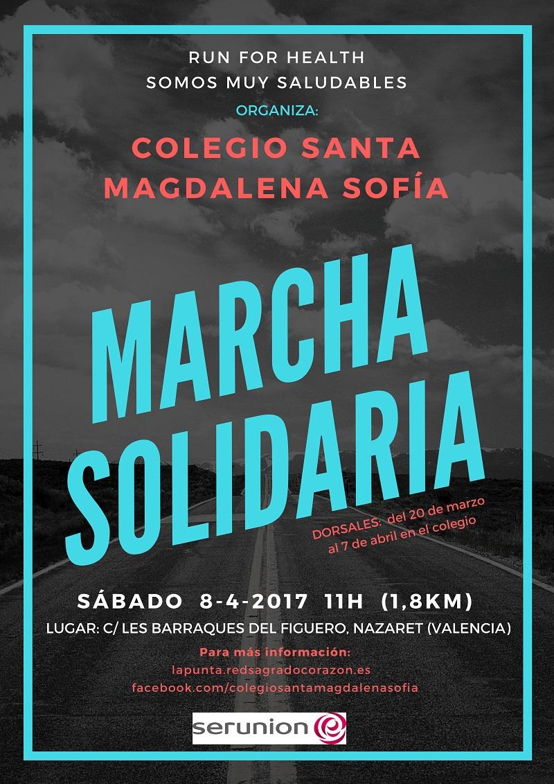 Llega la Marcha Solidaria como colofón al Proyecto SMS